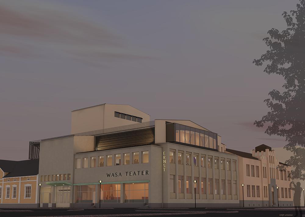 Lyckat renoveringsår för Wasa Teater